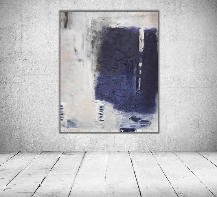 Blue Form | Work No. 2013.25 - Image 0