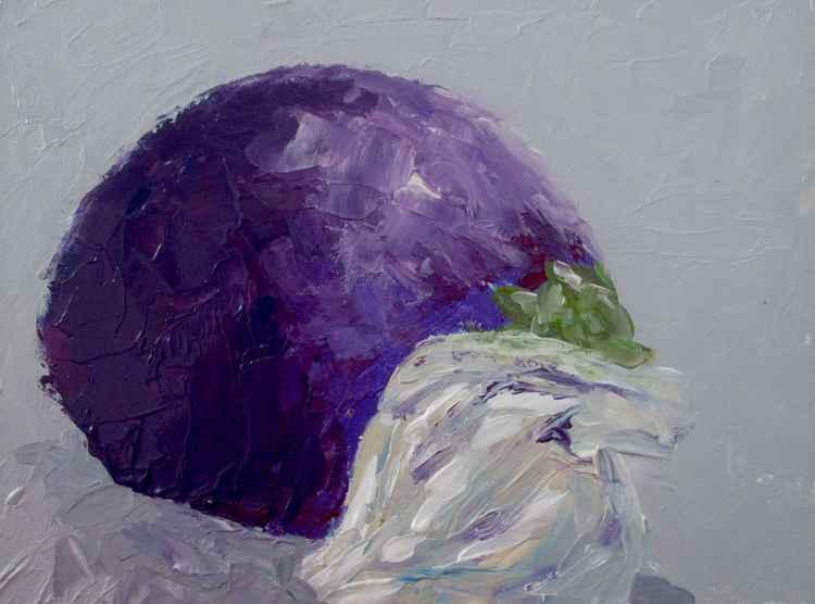 Aubergine and garlic - #109