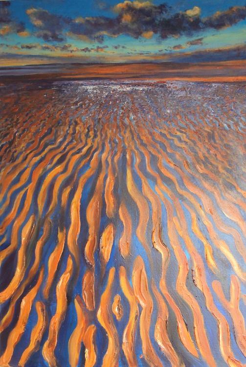 Evening Sun Sand Sea - Image 0