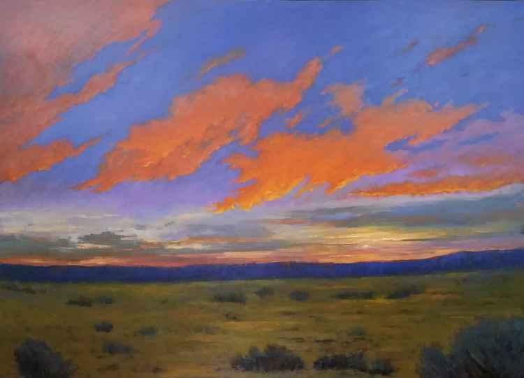 Sunset Fantasy-Santa Fe 56wx40h