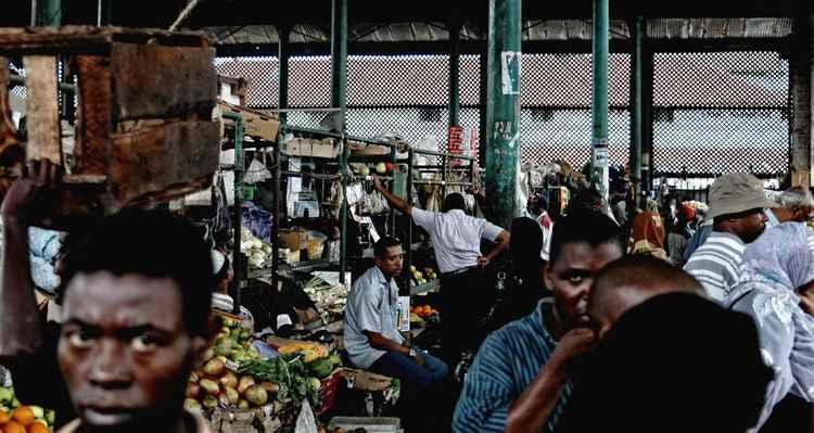 Mombasa Market #4 -