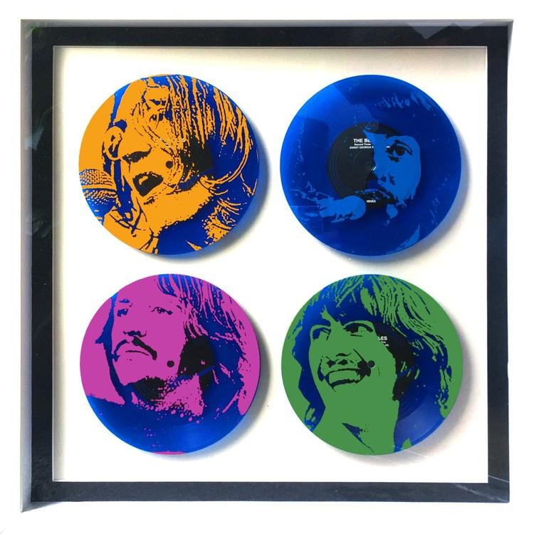 Let it Blue - Screenprint on Vinyl - Image 0