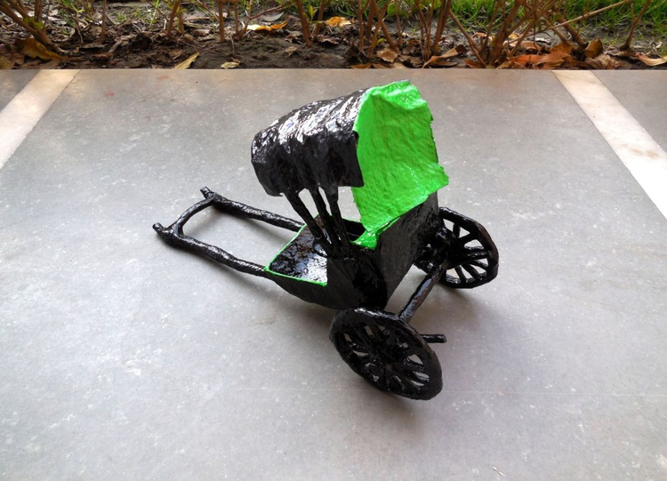 Hand Pulled Rickshaw - Image 0