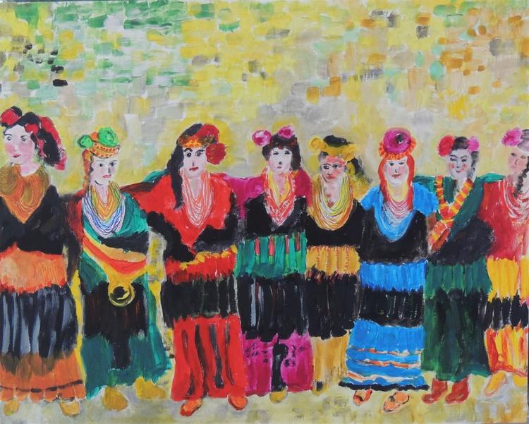 Dance of the Kalash Women. - Image 0