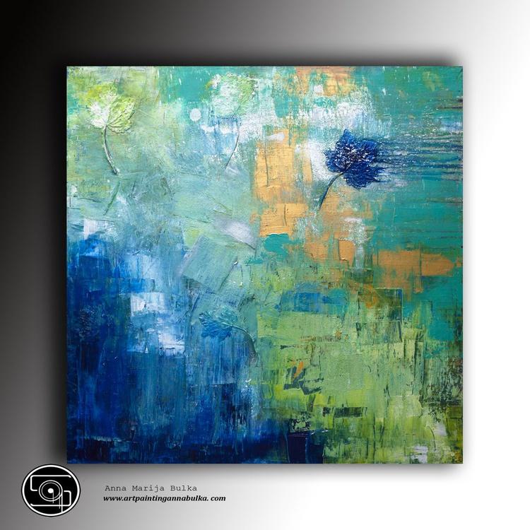 """"""" blue leaf """" - Image 0"""