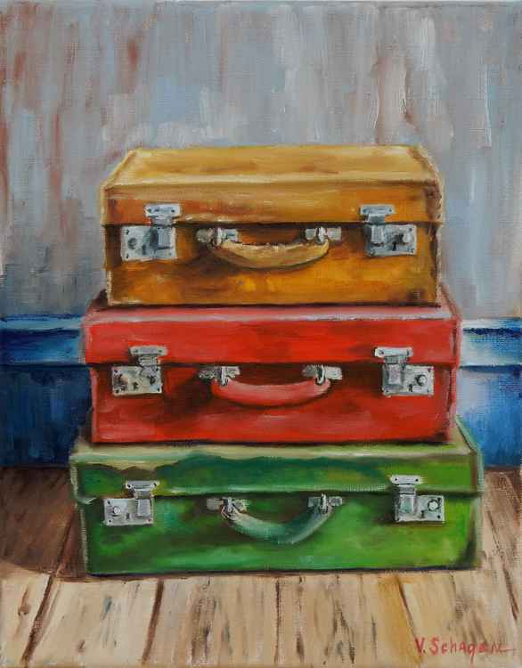 Old suitcases -