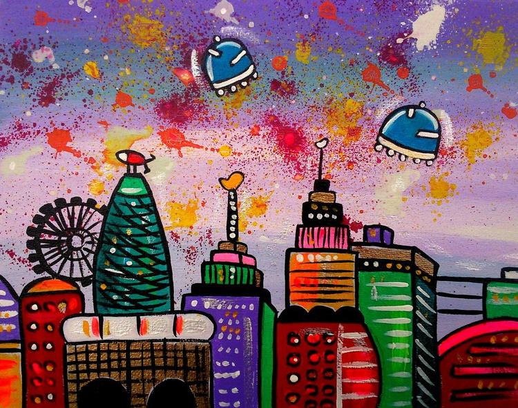 Space Happy City - Image 0