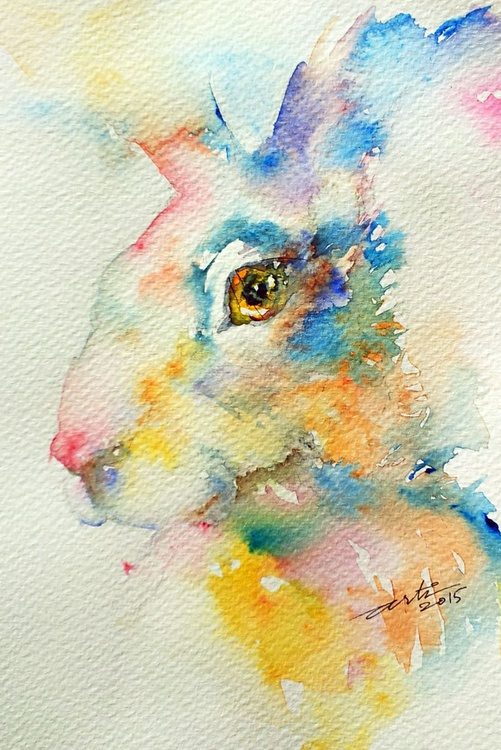 Blue Hare - Image 0