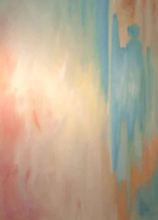 Abstract in Summer Shades No. 2 -