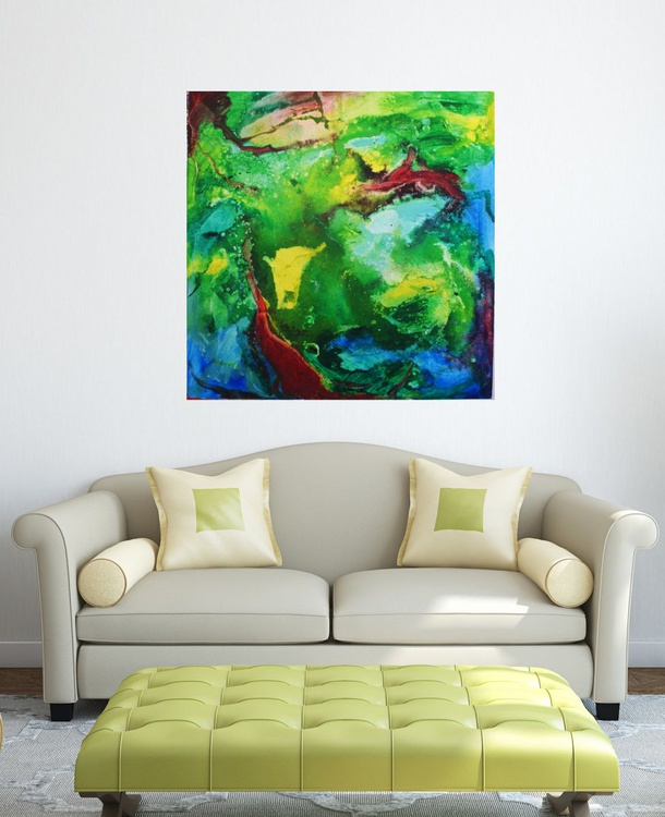 """Abstraction No. 8, """"The Earth Energy"""" - Image 0"""