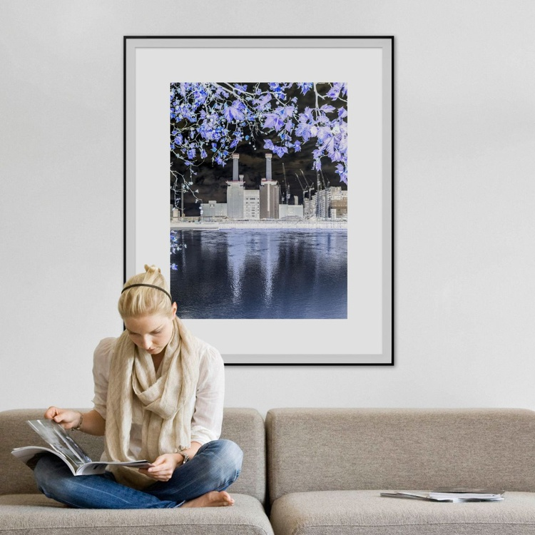 """BATTERSEA POWER STATION  2015 INVERT NO3  Limited edition  1/20 30""""X40"""" - Image 0"""