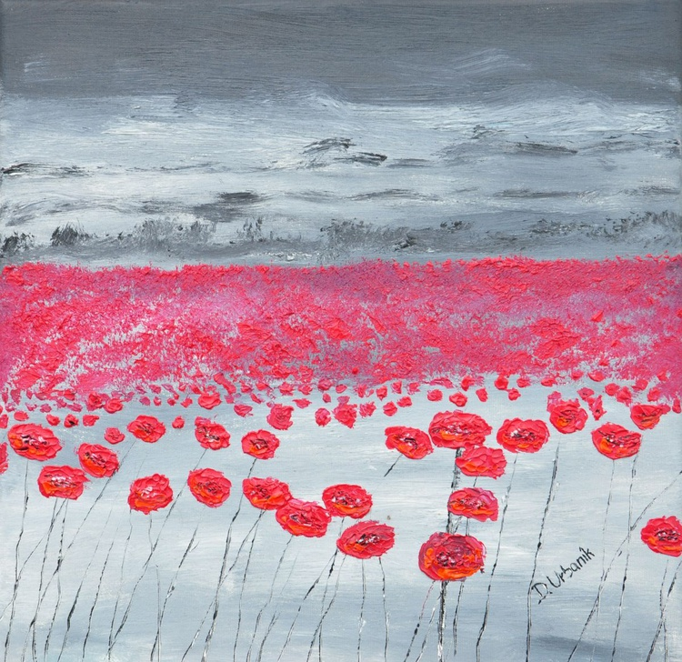 Poppies In The Rain1 - Image 0