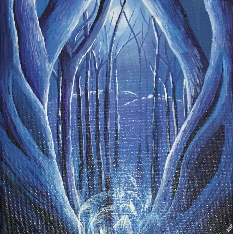 Moonlit woods 2 - Image 0