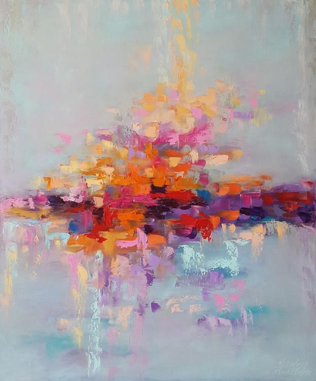 painting *Gentle emotions*Оil on canvas 75х90cm - Image 0