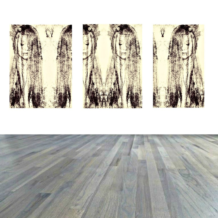 Untitled #75 - Limited Edition 3 Panel Canvas Print - Image 0