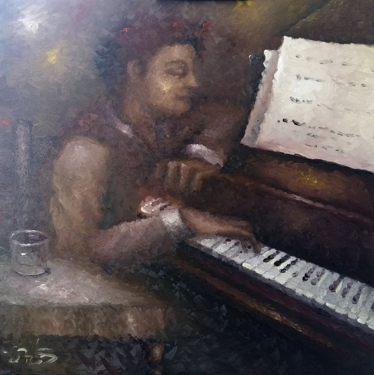Red head pianist - Image 0