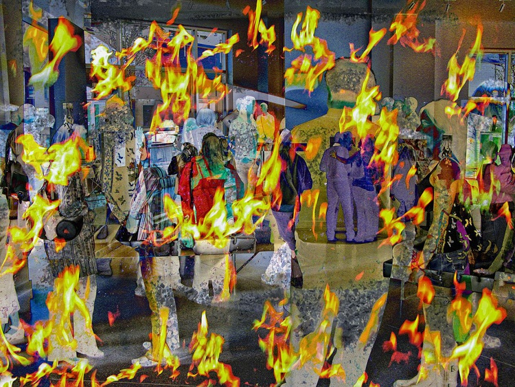 Gallery Crawling Through Fire - Image 0