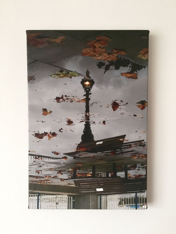 """STREETLAMP ON CANVAS 8""""x12"""" 1/50 (LIMITED EDITION) - Image 0"""