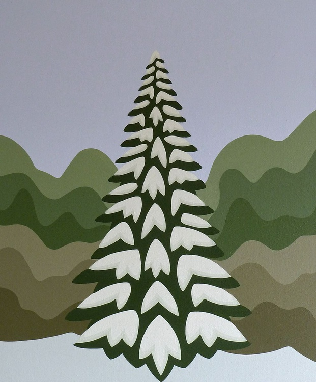 Tree by the hedge - Image 0