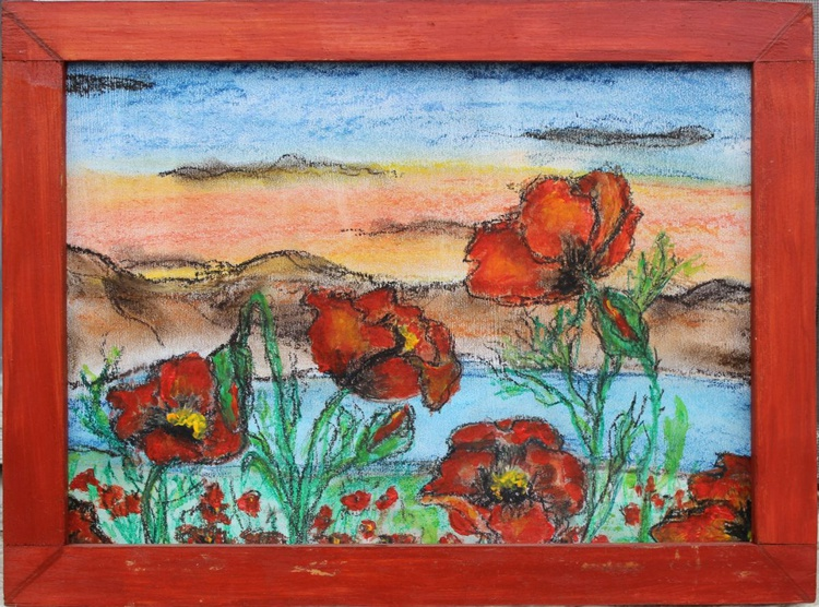 Poppies meadow - Image 0