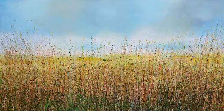 Autumn Marsh Grasses -