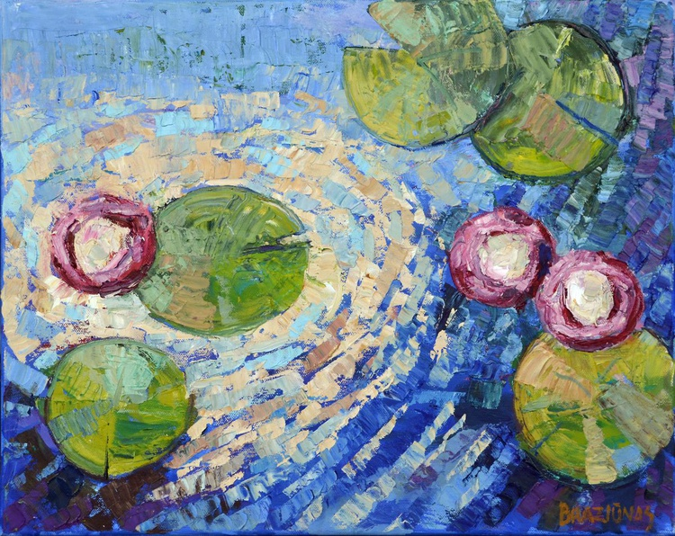 lilies on the water - Image 0