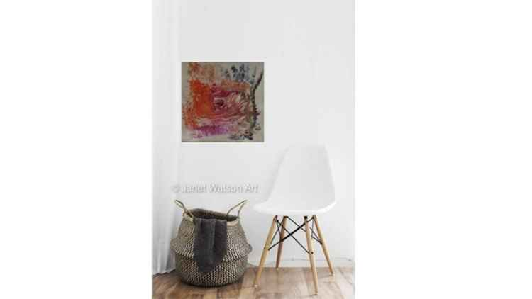 Sold in UK. Himalayan Salt Lamp Collection - Dance, Dance, Dance - by Artist Janet Watson -