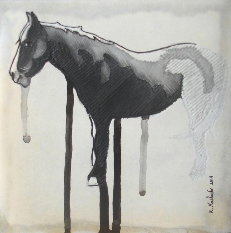 Horse Carved IV - Image 0