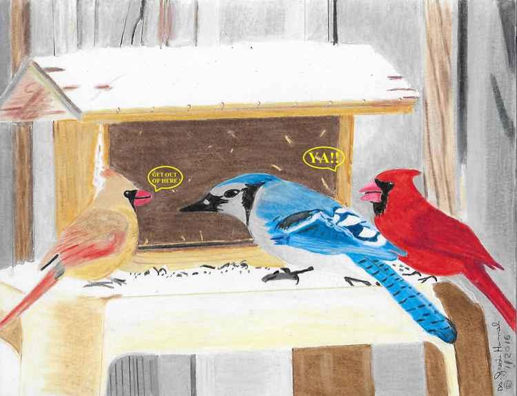 The Blue Bird -