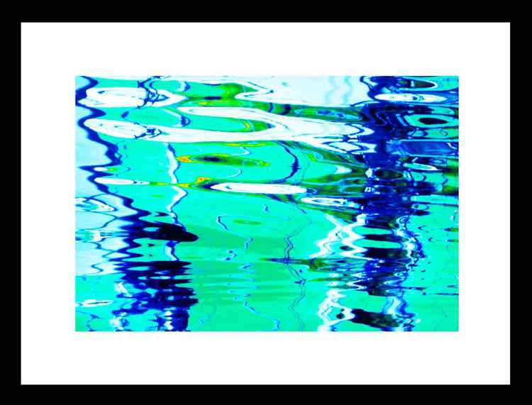 Natural Abstracts - Marina Reflections number 6 - Mini