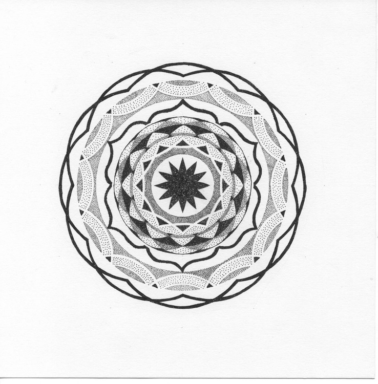 GROOVE - Dotwork Mandala - Image 0