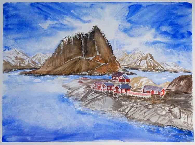 Norwegian village -
