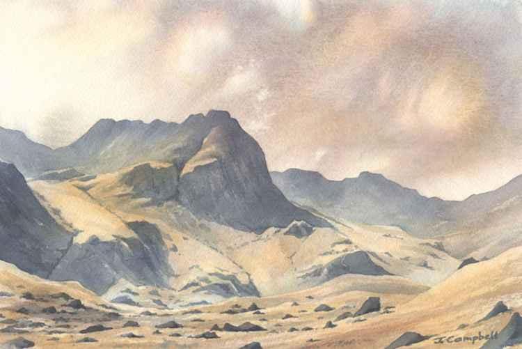 Hutaple Crag, Deepdale. -