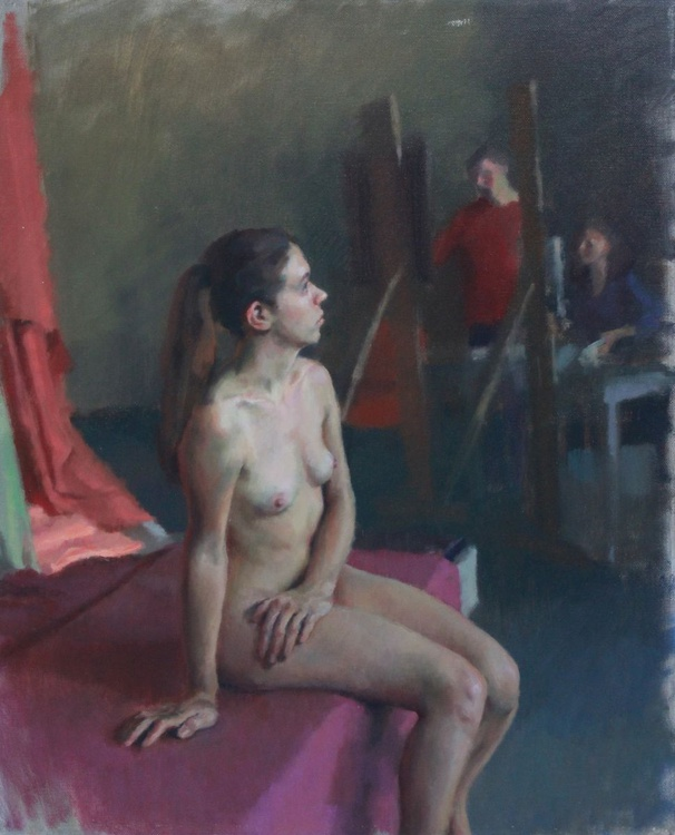 Model and Artists - Image 0