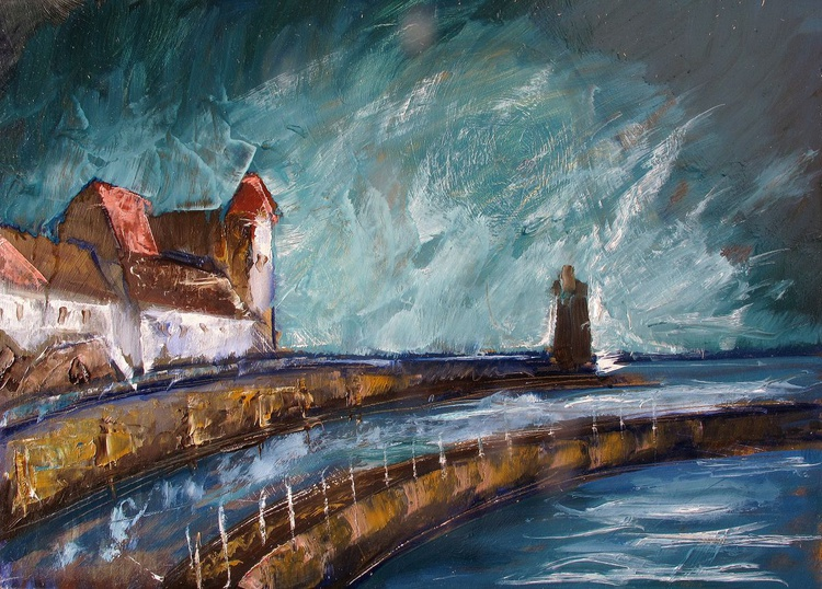 Lynmouth Evening - Image 0