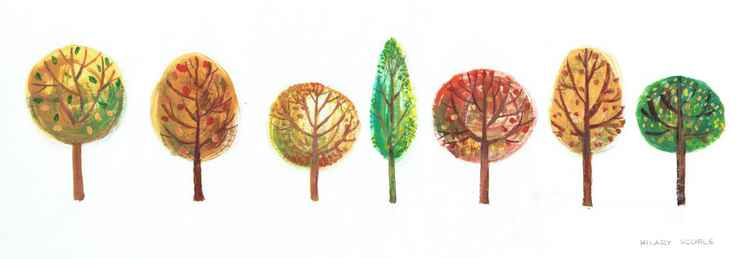 Seven Shades of Autumn -
