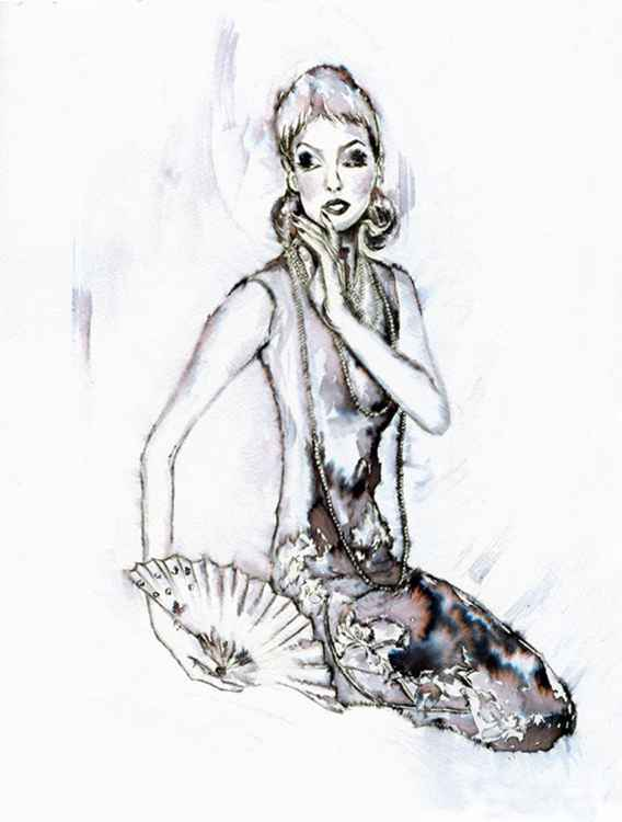 Asian / Fashion in Ink -