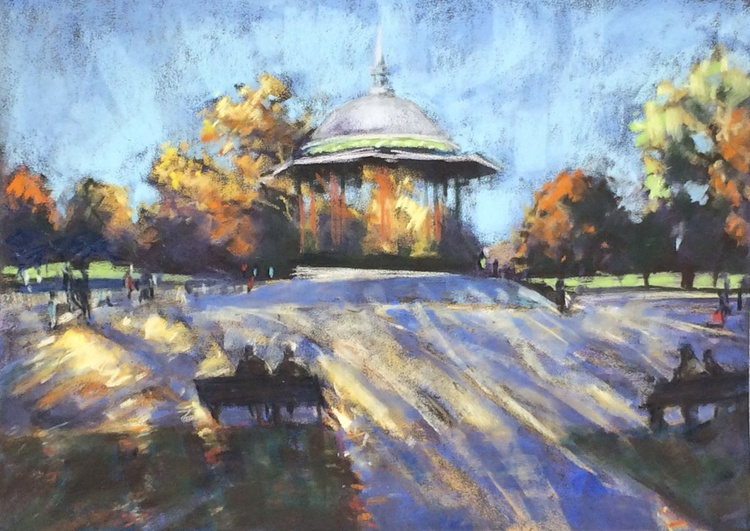 Clapham Common, Autumn - Image 0