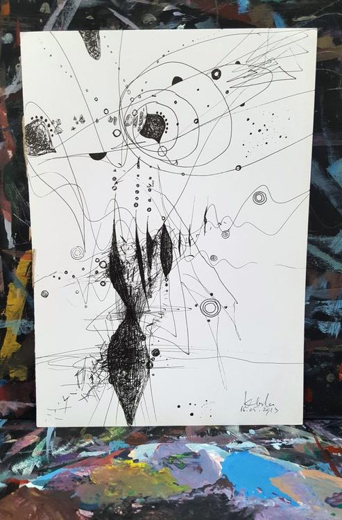 unique way to draw still life like universe expanding master ovidiu kloska - Image 0