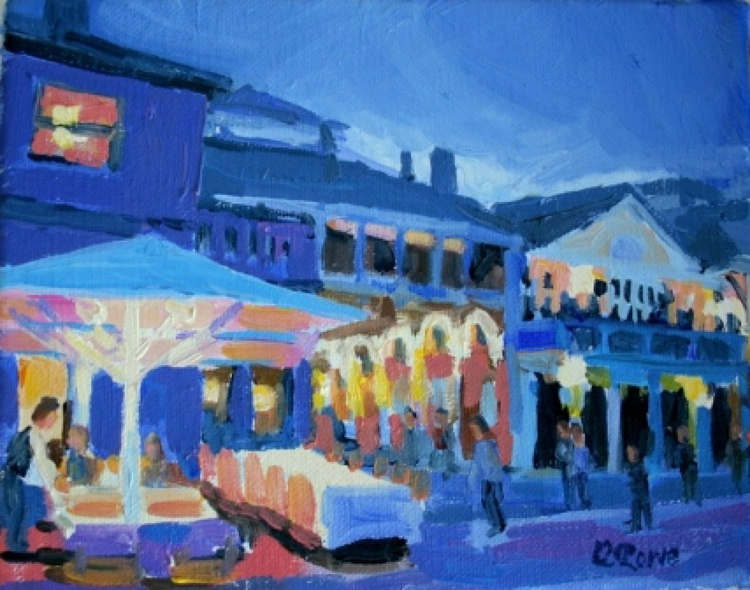 Covent Garden in the evening - Image 0