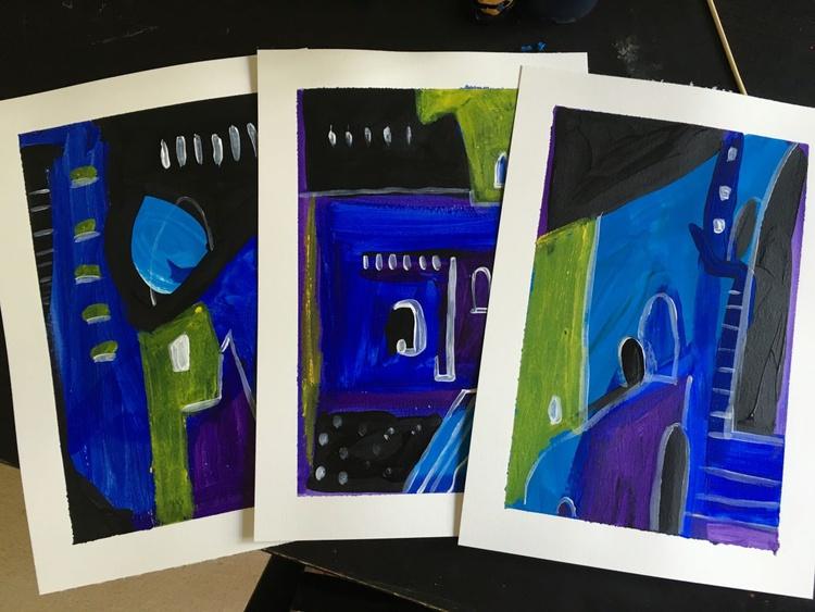 Blue series - Image 0