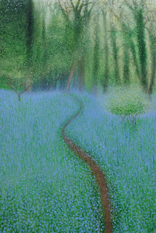 Path Through Bluebell Woods - Image 0
