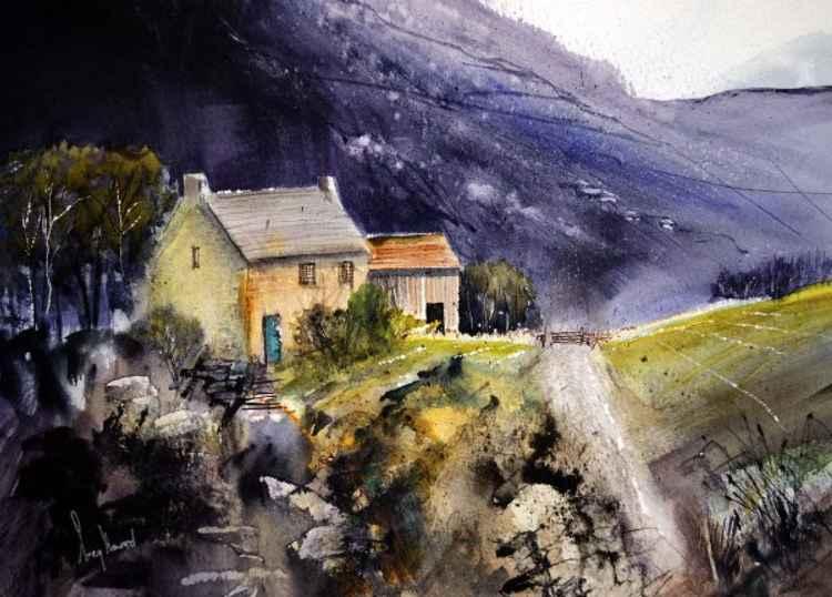 Black Hill Farm - Original Watercolour Painting