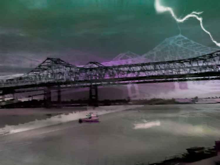 New Orleans Bridge #3-5