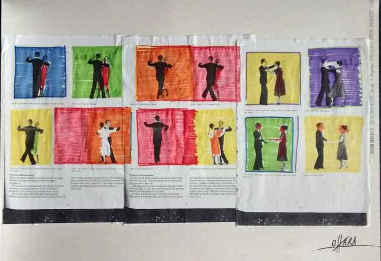 Pop Art dancing...