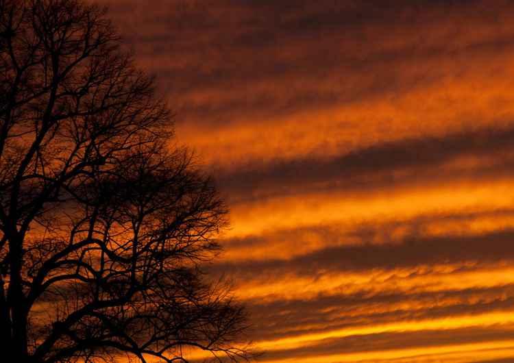 Sunset Over Somerset  -