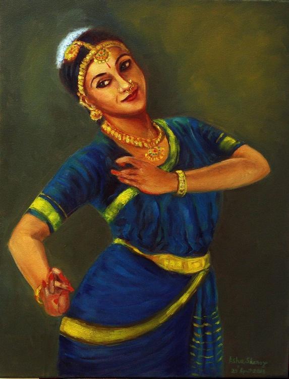 Radha, the beloved of Krishna pretending to be Krishna - Image 0