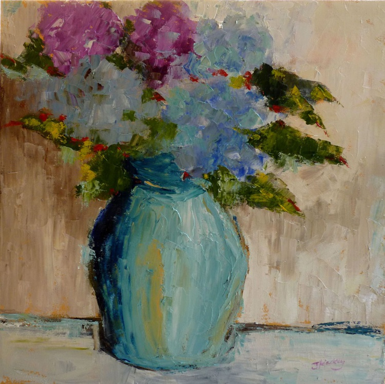 Arrangement in Blue - Image 0