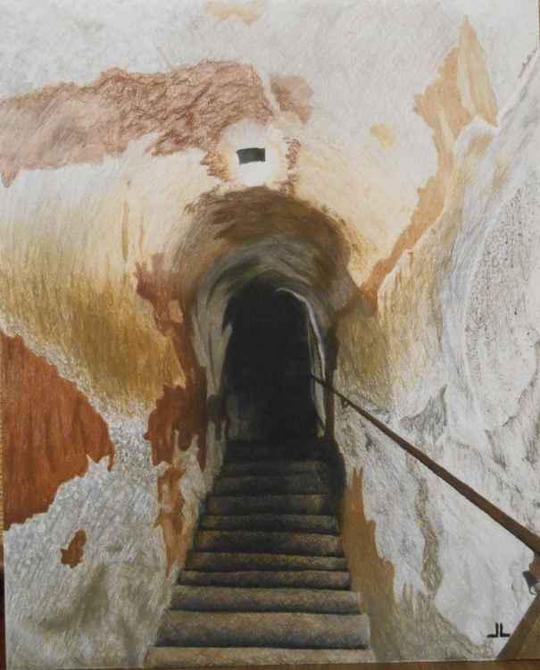 Château de Chillon Staircase