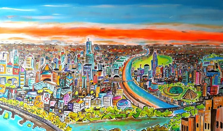 Futuristic Melbourne - (Commission ) - Image 0
